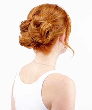 Easy Knot Updo