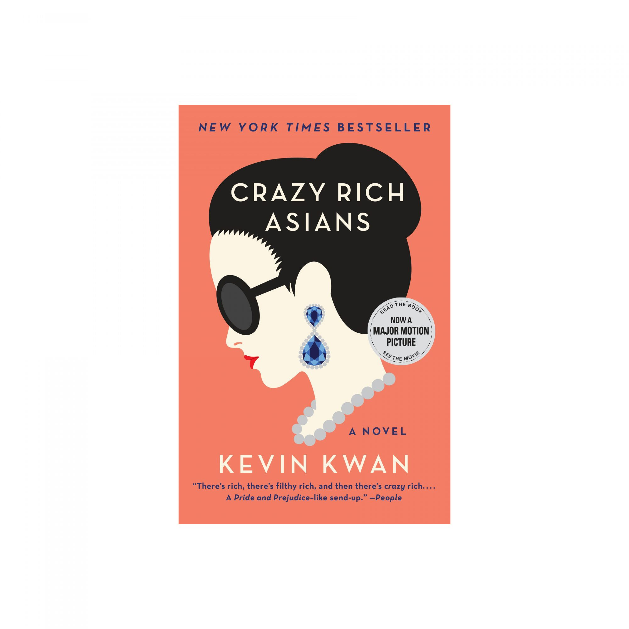 Airplane Books Crazy Rich Asians, by Kevin Kwan
