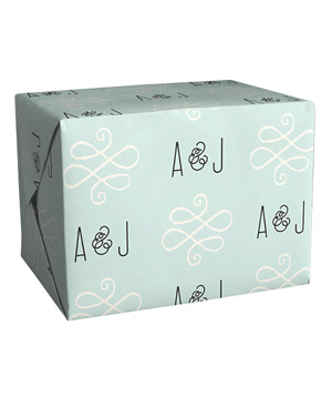 Alford Park Personalized Wrapping Paper