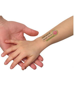 Safetytat Temporary Tattoos