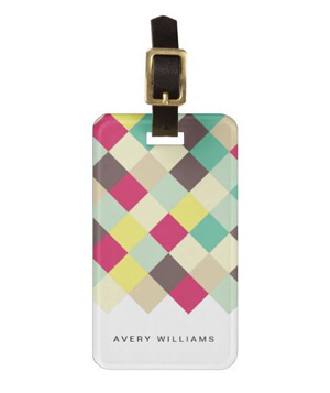Dive Into Color Travel Bag Tag