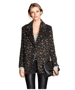 H&M Patterned Coat