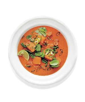Thai Pork and Squash Soup
