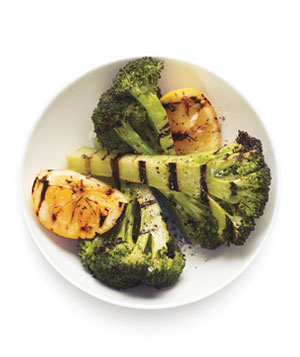Grilled Broccoli and Lemons