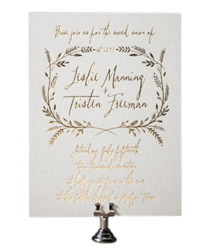 Bella Figura Harvest Wedding Invitations