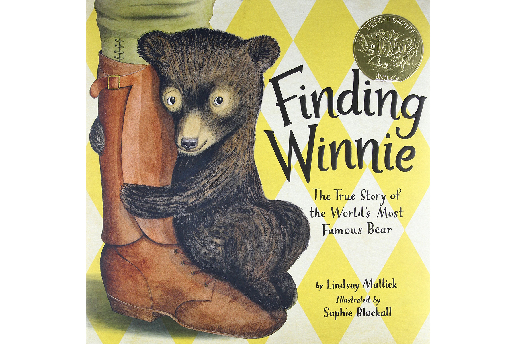 <em>Finding Winnie: The True Story of the World's Most Famous Bear</em>, by Lindsay Mattick and Sophie Blackall (Illustrator)