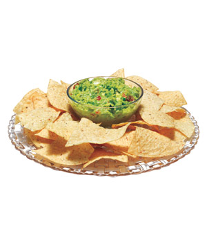 Chip and Dip Cake Plate
