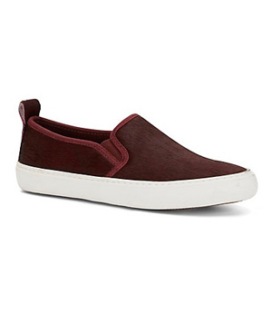 C. Wonder Calf Hair Slip-on Sneakers