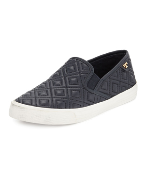 Tory Burch Jessie Quilted Slip-on Sneakers