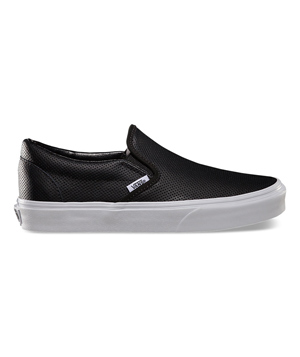 Vans Perf Leather Slip-Ons