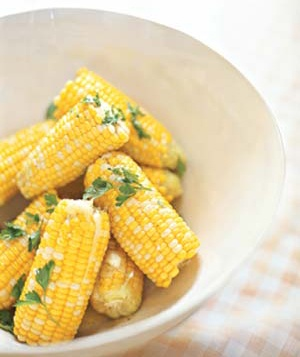 15 american recipes real simple parsleyed corn on the cob forumfinder Choice Image
