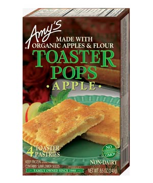 Amy's Apple Toaster Pops