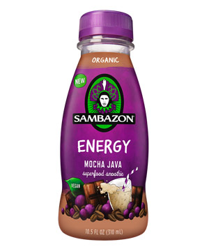 Sambazon Energy Mocha Java Superfood Smoothie