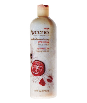 Aveeno Positively Nourishing Smoothing Body Wash