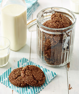 Molasses-Ginger Cookies