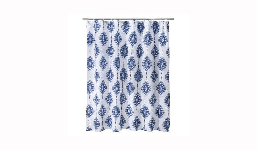 Mudhut Izula Shower Curtain