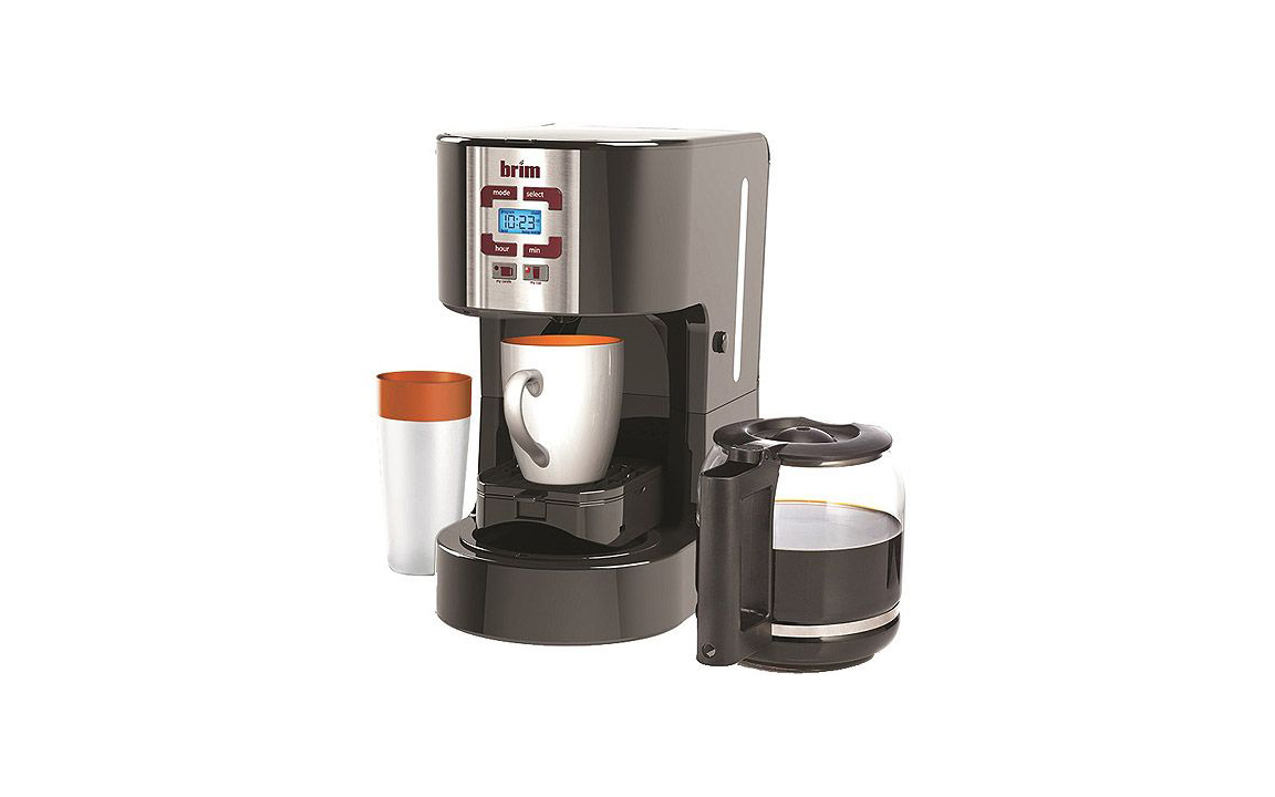 Brim Size-Wise Programmable Coffee Station