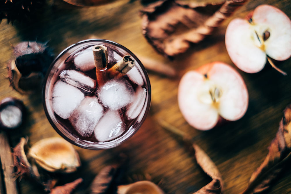 Fall Drinks Recipes: Apple Cider Cocktails