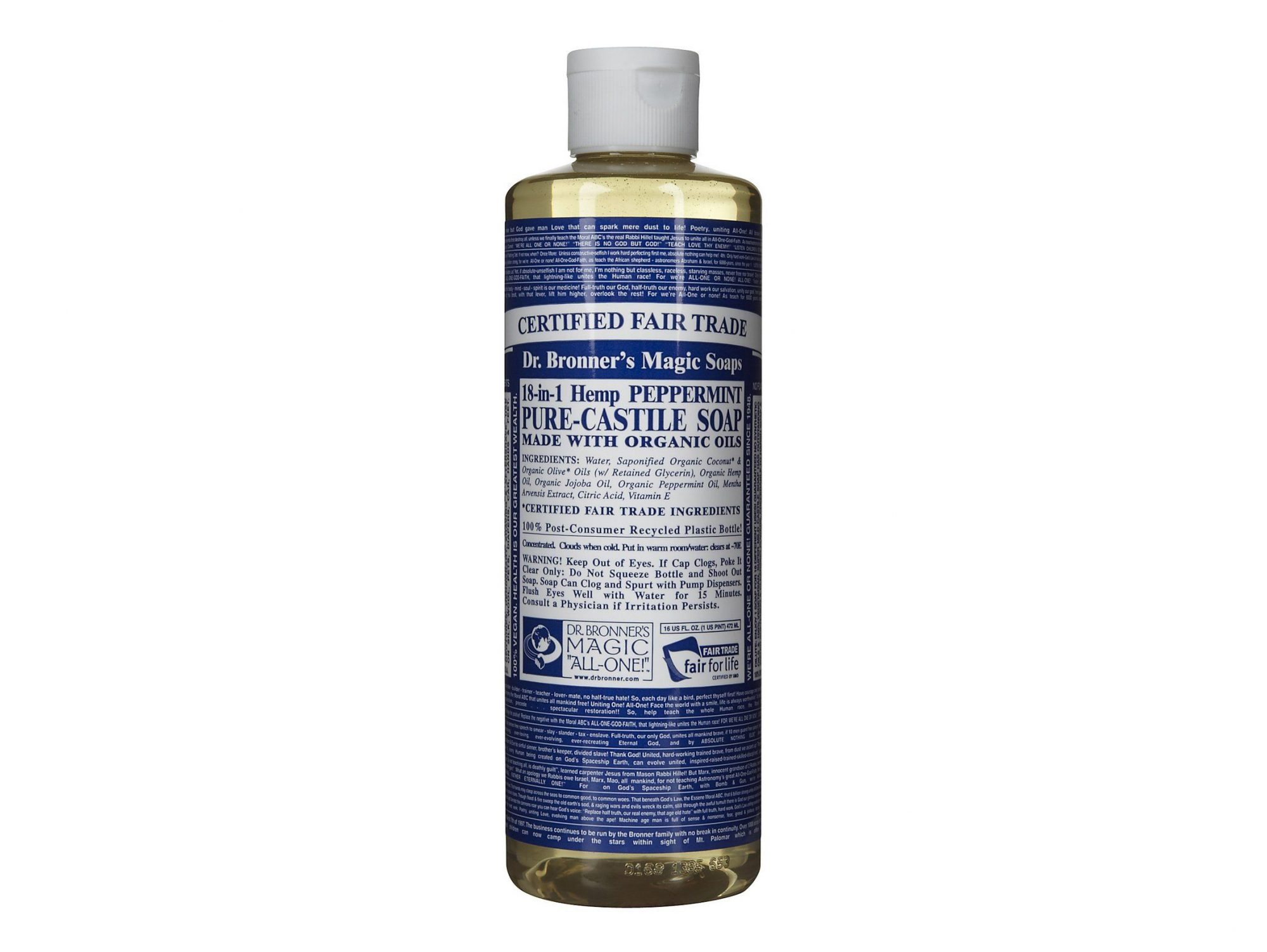 Pure Castile Liquid Soap