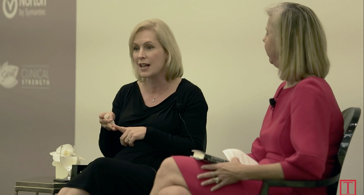Kirsten Gillibrand at Women and Success