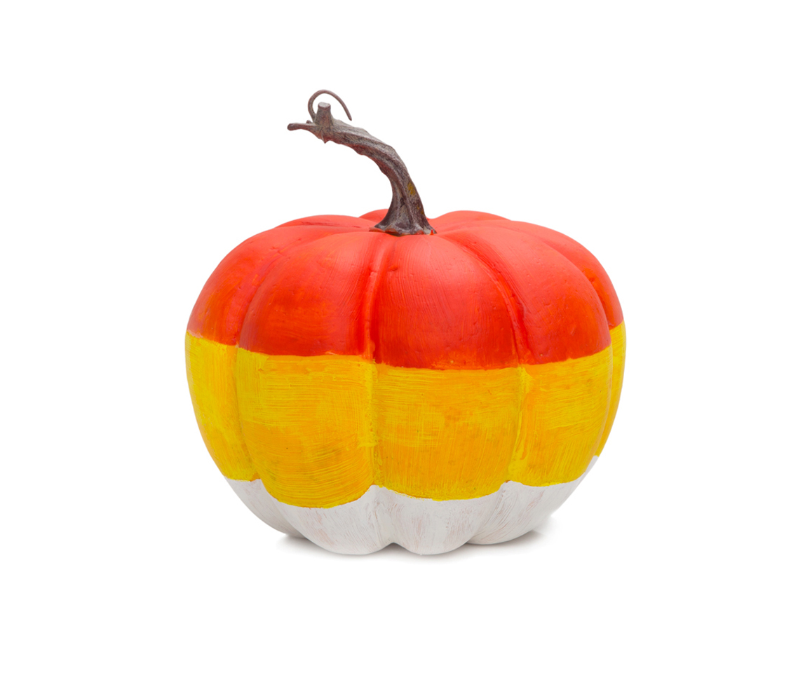 Candy Corn Pumpkin