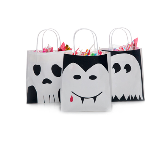 Black and White Treat Bags