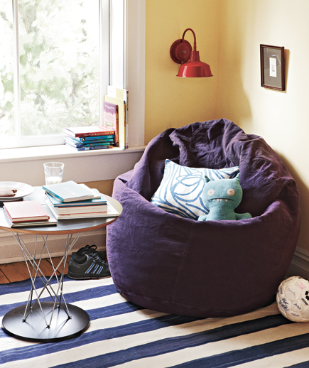 Make Use of Corners & 16 Apartment Decorating Ideas | Real Simple