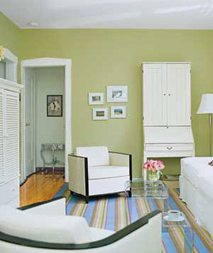 Small Living Room Solutions big solutions for a small living room/dining room - real simple
