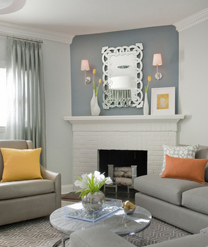 Silver Metallic Living Room Part 69