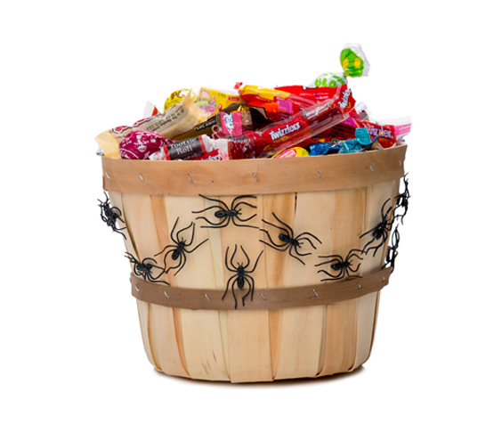 Spooky Spider Treat Pail