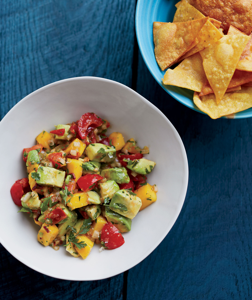 Smoked Chile and Mango Guacamole, Steve Menter