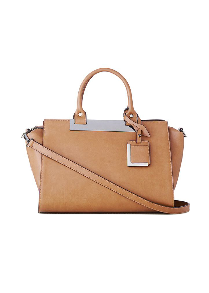 The Limited Metal Trim Satchel