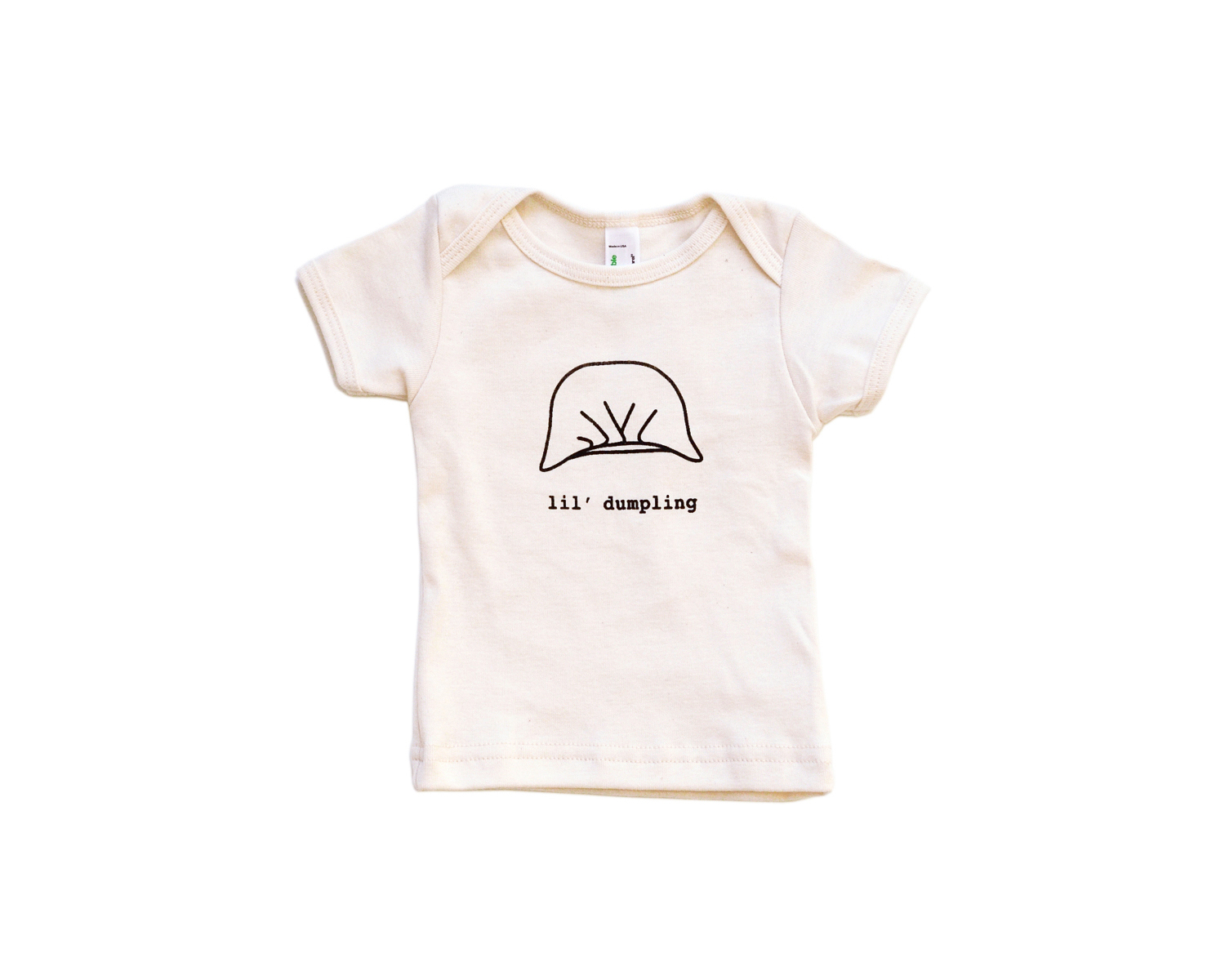 Plate & Pencil Dumpling Infant Lap Tee