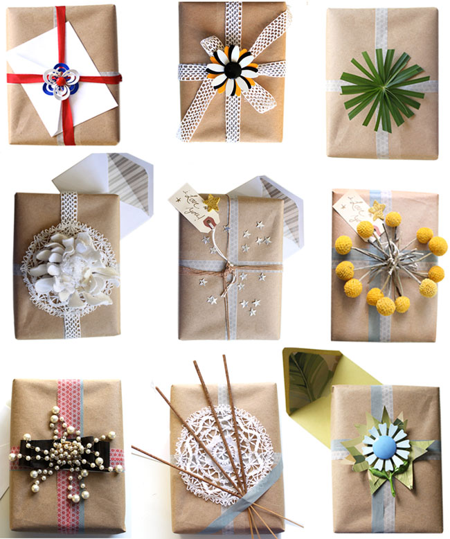 5 Unique Gift Wrap Ideas You'll Never Find In a Store | Real Simple