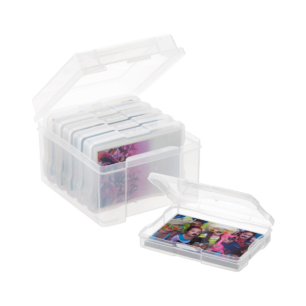 "6-Case 4x6"" Photo Box"