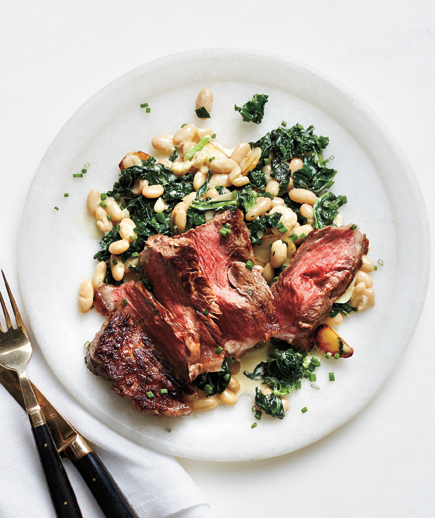 steak-creamed-kale