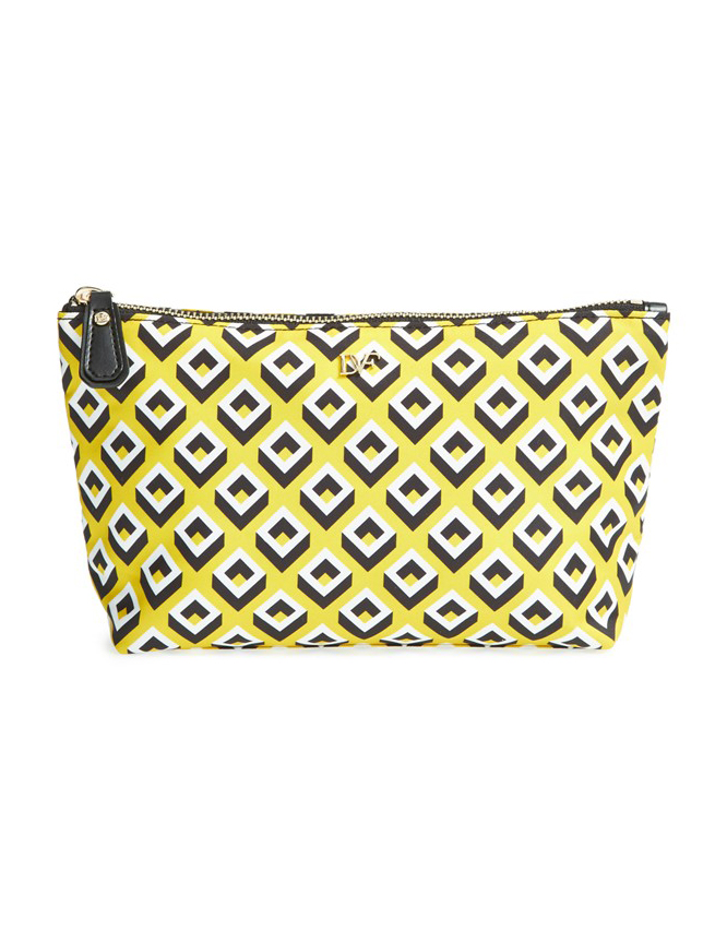 DVF Heritage Print Small Cosmetic Case