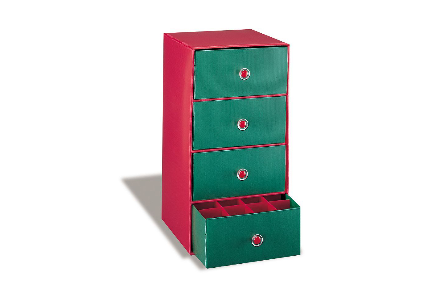 Holiday 4-Drawer Storage Chest
