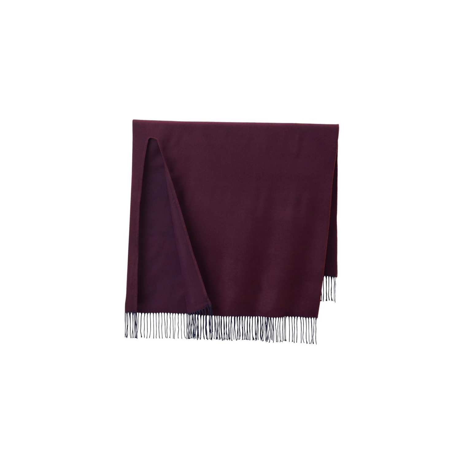 Uniqlo 2Way Stole Wine