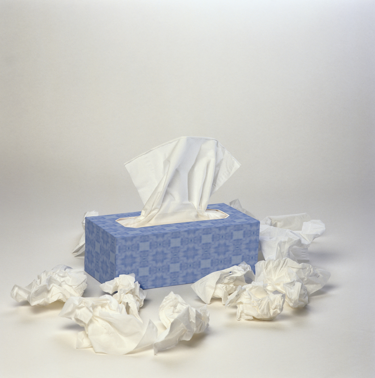 tissues flu