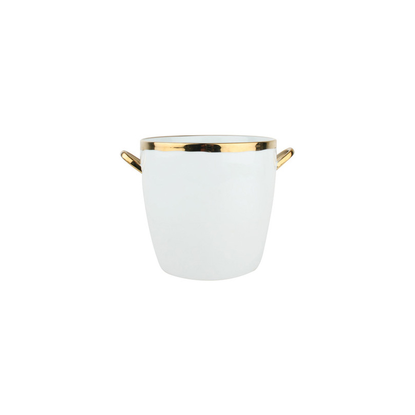 Dauville Ice Bucket in Gold