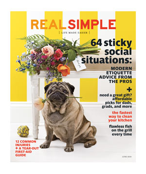 Real Simple June 2014 Cover