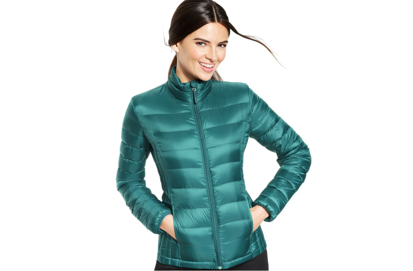 32 Degrees Quilted Down Packable Puffer Coat