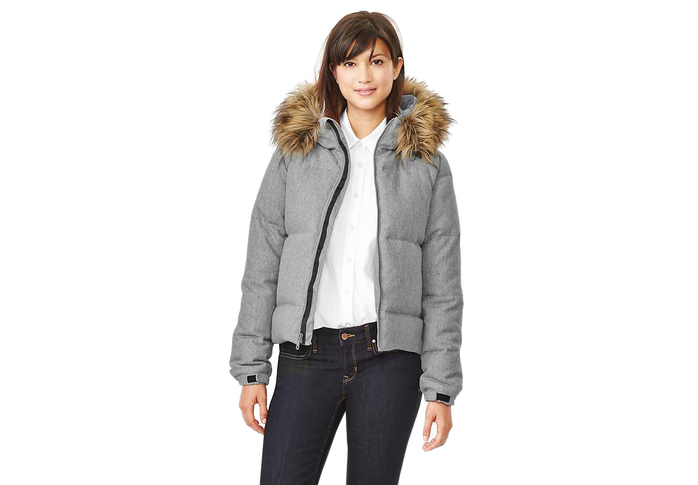 Gap Fur-Trim Down Puffer
