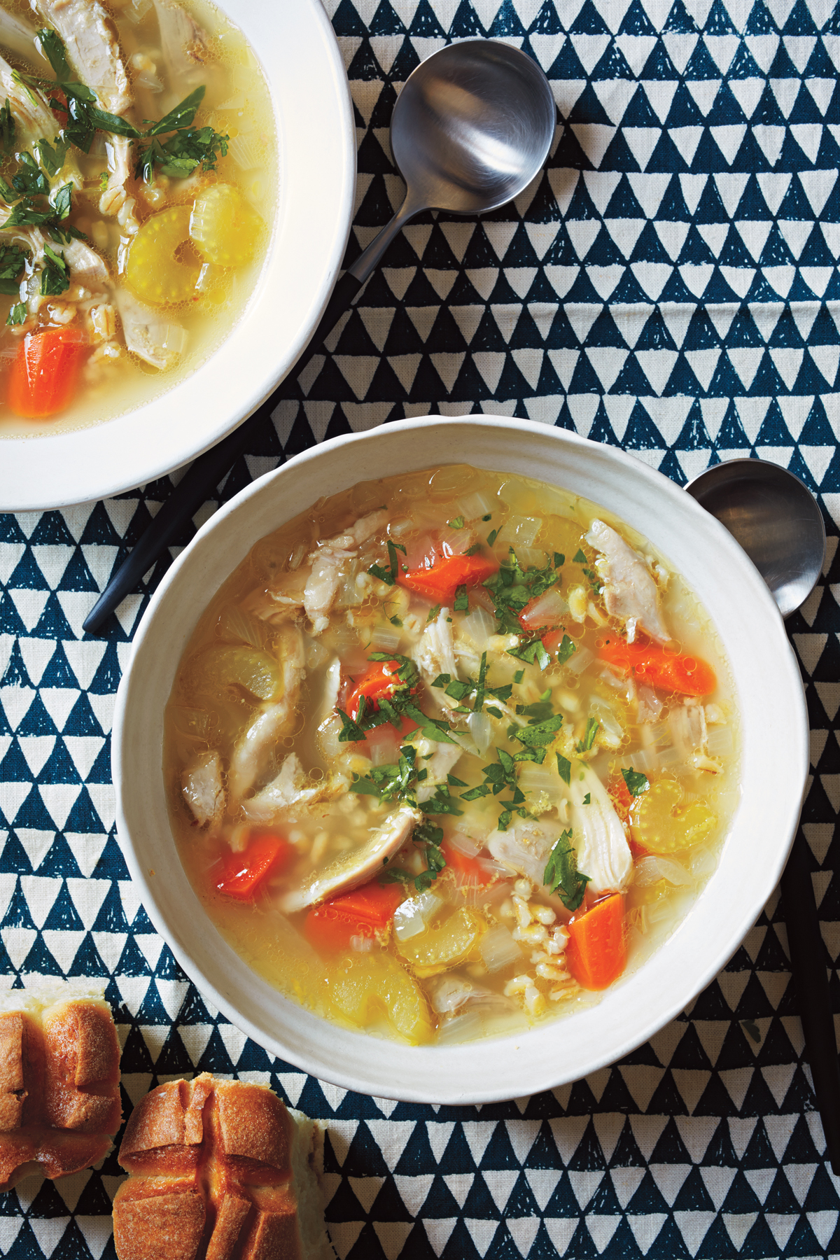 Chicken and Barley Soup