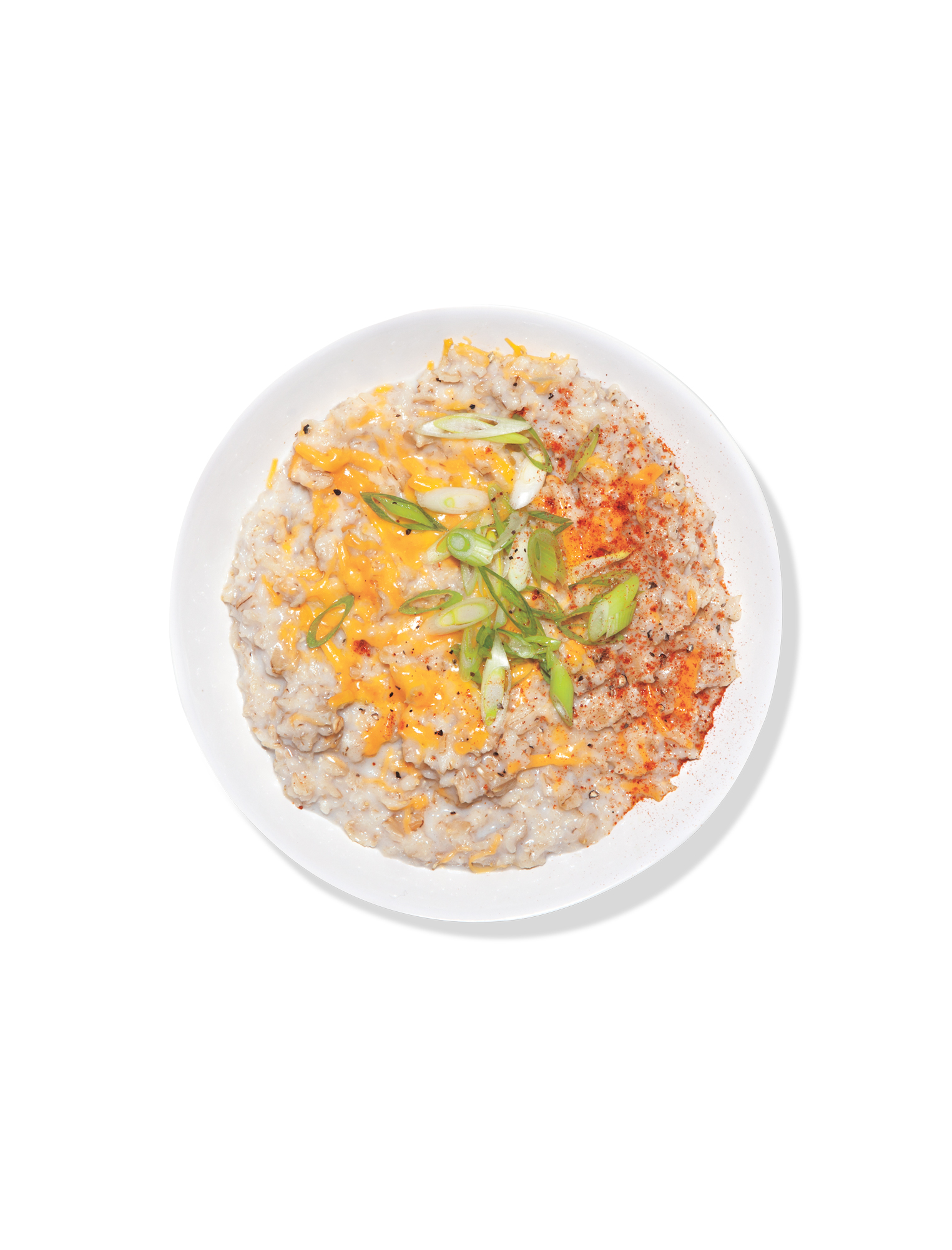 Oatmeal with Cheddar and Scallion (new)