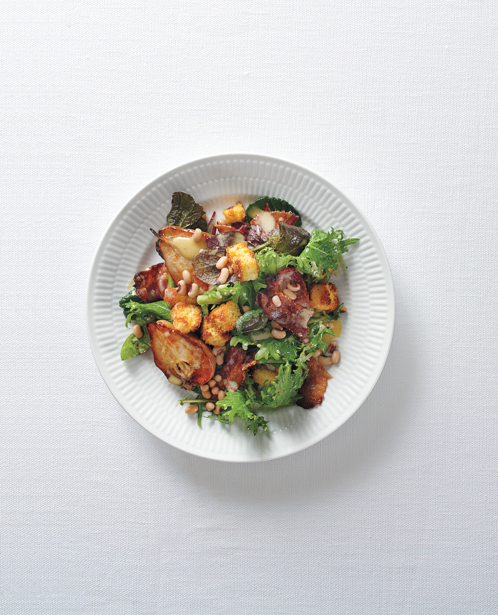 Hearty Greens Salad with 
