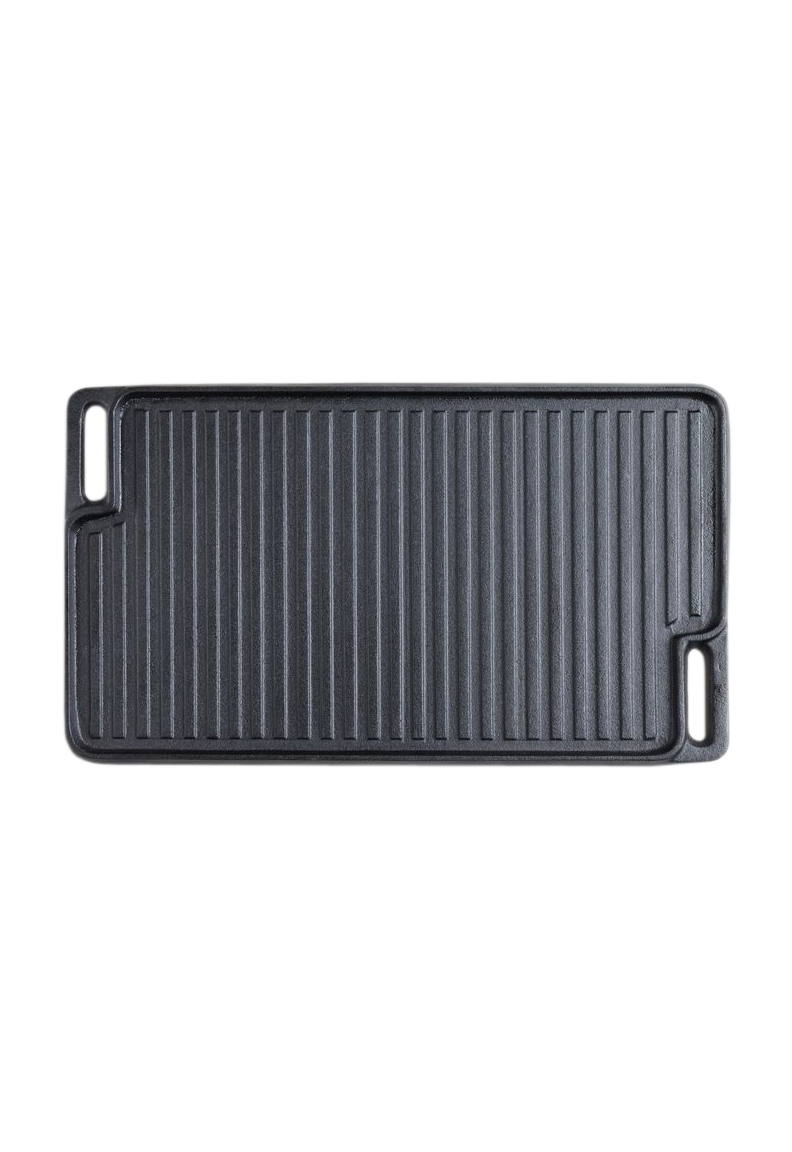 Double Sided Cast Iron Griddle