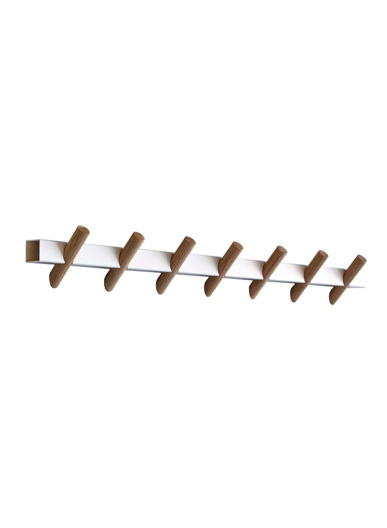 Crosscut Coat Rack