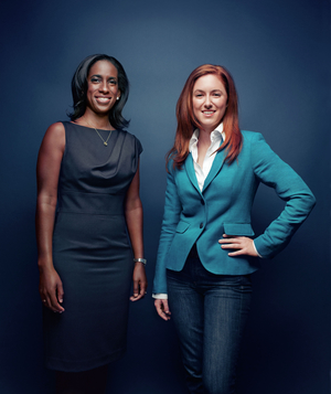 Binta Niambi Brown and Kate Pynoos: mentor and protégée